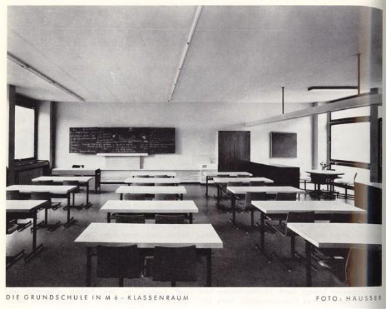 In den Klassenzimmern