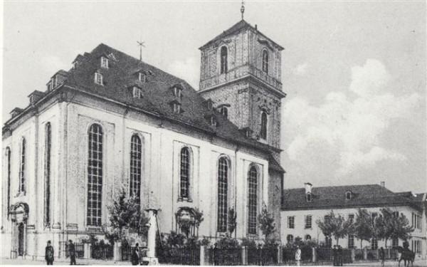 Konkordienkirche und evangelisches Schulhaus, 1824-1914
