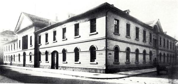 Evangelisches Schulhaus R 2, vor 1914